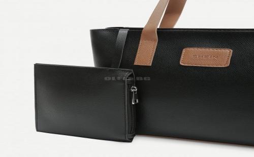Дамска Чанта с Дълги Дръжки Logo Tape Tote Bag