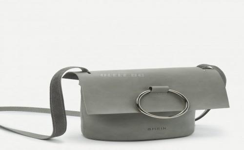 Дамска чанта Ring Front Flap Crossbody Bag