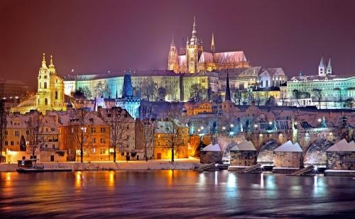 Нова Година 2019 в <em>Прага</em> - Хотел Duo 4* за 4 Нощувки със Закуски,директен Полет с България Еър, Чекиран Багаж, Летищни Такси, Обзорна Обиколка и Трансфери / Отпътуване на 30 Декември  ...