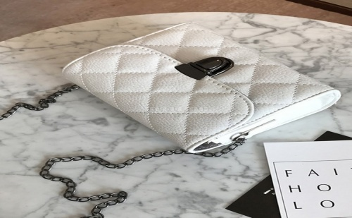 Дамска чанта Push Lock Quilted PU Crossbody Chain Bag