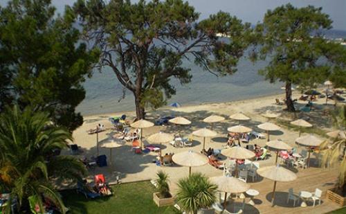 През Септември: 3 Нощувки със Закуски и Вечери в Хотел Rachoni Bay 3*, о.тасос, Гърция!