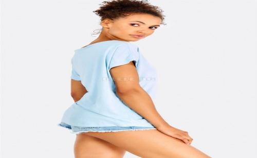 Дамска тениска Light Blue Loose Fit T-Shirt