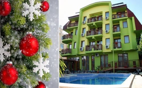 Коледа в <em>Хисаря</em> на Топ Цена. 3 или 4 Нощувки със Закуски за Двама и Релакс Зона в Хотел Грийн