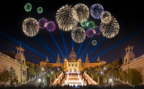 Звездна Нова Година в Барселона, Испания. Самолетен Билет + Летищни Такси + 5 Нощувки, 5 Закуски и Пълна Туристическа Програма в Хотел Eurohotel Granvia Fira 4*