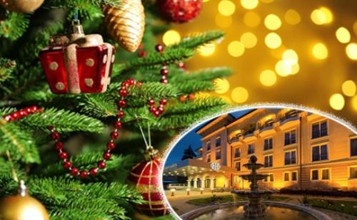 Коледа за Двама в Спа Хотел Стримон Гардън***** <em>Кюстендил</em>! 4 Нощувки със Закуски и Вечери + Празничен Куверт, Басейн и Спа Пакет