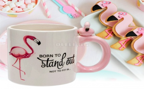 Готина Чаша за Чай Фламинго