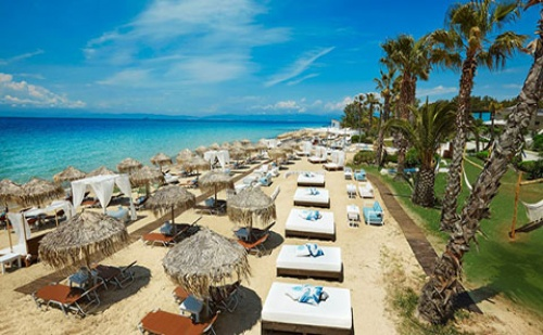 Ранни Резервации: 5 Нощувки със Закуски и Вечери в Хотел Ilio Mare 5*, о.<em>Тасос</em>, Гърция през Май и Юни!