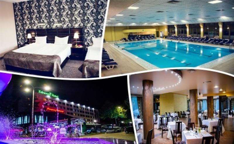 Нощувка на човек със Закуска и Вечеря + <em>СПА</em> и Басейн с Минерална Вода и Бонус Масаж в Хотел Здравец Уелнес и <em>СПА</em>*** Велинград