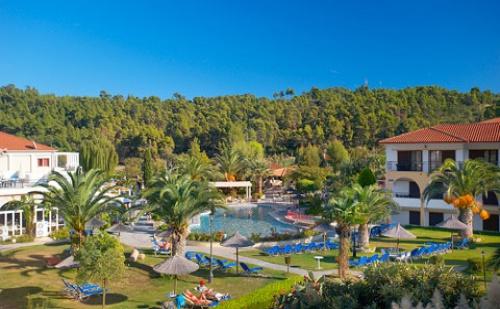 Ранни Резервации: 5 Нощувки, All Inclusive в Хотел Chrousso Village 4*, <em>Халкидики</em>, Гърция през Май и Юни! Дете до 12.99Г. - Безплатно!