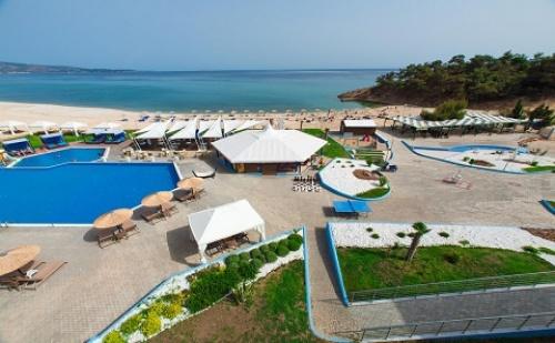 Ранни Резервации: 5 Нощувки със Закуски и Вечери в Хотел Blue Dream Palace 4*, о.<em>Тасос</em>, Гърция през Май и Юни!