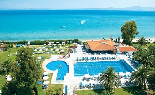 Ранни Резервации: 5 Нощувки със Закуски и Вечери в Хотел Grecotel Pella Beach 4*, Халкидики, Гърция през Май!
