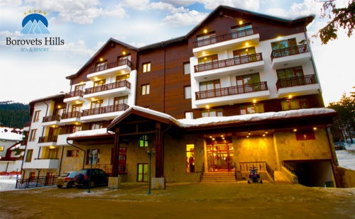 Нова Година в Spa Хотел <em>Боровец</em> Хилс*****. 3 или 4 Нощувки със Закуски и Вечери, Едната Празнична + Спа Пакет.