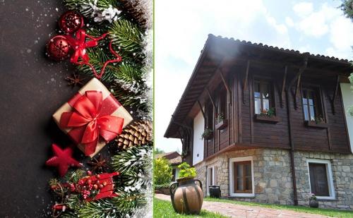 Коледа в <em>Арбанаси</em>. 2 или 3 Нощувки със Закуски и Празнични Вечери + Сауна, Парна Баня и Джакузи в Хотел Извора.