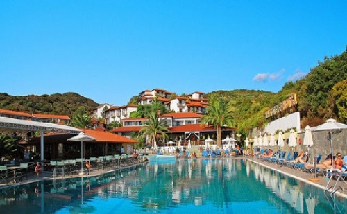 Ранни резервации: 6 нощувки, All Inclusive в хотел Aristoteles Holiday Resort & Spa 4*, Халкидики, Гърция през Юли!
