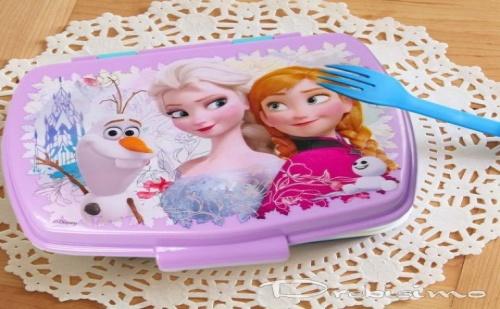 0,6 Л. Детска Кутия за Храна Frozen