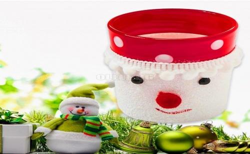 Сладурска Коледна Поставка за Свещ
