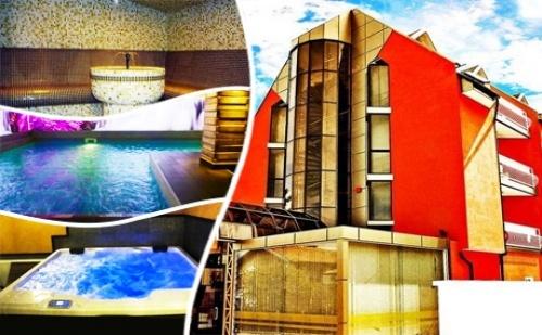 Уикенд в Сапарева Баня! Нощувка със Закуска на човек + Минерален Басейн и <em>СПА</em> Пакет в Хотел Виа Лакус
