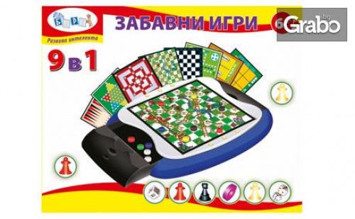 Комплект от 9 Забавни Игри за Деца Над 6 Години