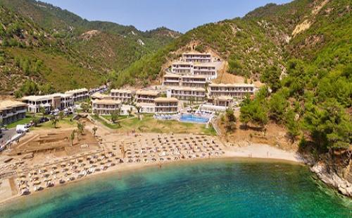 Ранни Резервации: 3 Нощувки със Закуски и Вечери в Хотел Thassos Grand Resort 5*, о.<em>Тасос</em>, Гърция през Май!