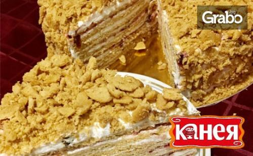 Торта Медовик с Вишни или Смокини