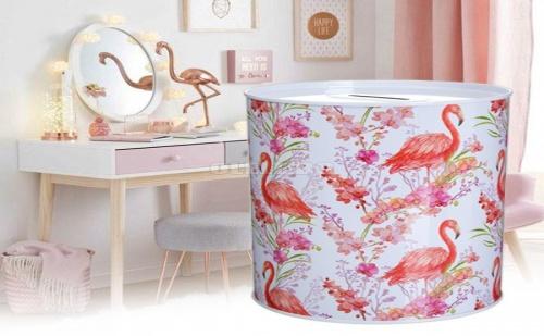 Метална Касичка Фламинго