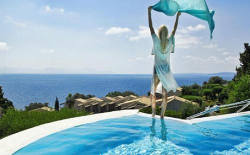 Ранни Записвания: 5 Нощувки, All Inclusive в Хотел Aeolos Beach 4*, о.<em>Корфу</em>, Гърция през Май и Юни!