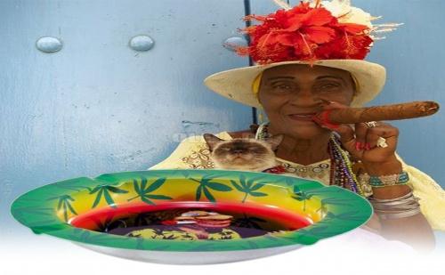 Готин Метален Пепелник Jamaica