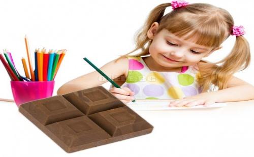 Гумичка за Изтриване Блокче Шоколад