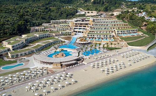Ранни Записвания: 3 Нощувки със Закуски и Вечери в Miraggio Thermal Spa Resort 5*, Халкидики, Гърция през Май и Юни!