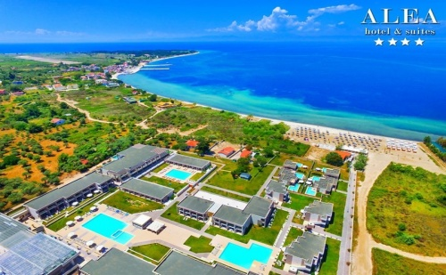 Ранни Записвания Гърция, 5 Дни за Двама Полупансион в Alea Hotel & Suites