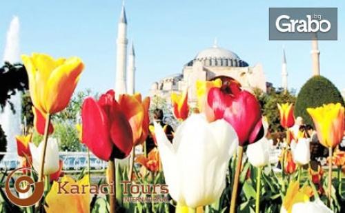 За Фестивала на Лалето в Истанбул! Екскурзия с 2 Нощувки със Закуски, Плюс Транспорт от Варна и <em>Бургас</em>