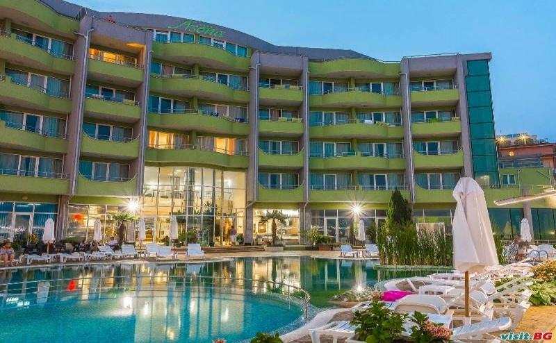 Безплатен Плаж в <em>Несебър</em> Лято 2019, Ultra All Inclusive Оферта до 30.06 в Хотел Арсена