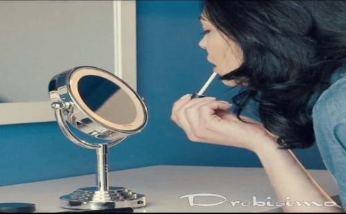 Двойно Козметично Огледало с Подсветка Innoliving