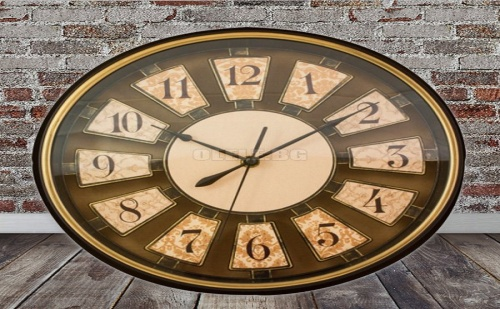 Стенен Часовник в Ретро Стил