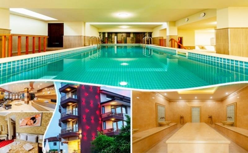 Почивка в Павел Баня в Новия Хотел Алиса! Нощувка на човек със Закуска + Топъл Басейн и Спа