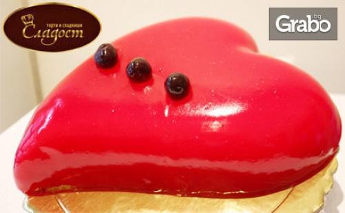 За 8 Март! Торта във Формата на Сърце, Модел по Избор