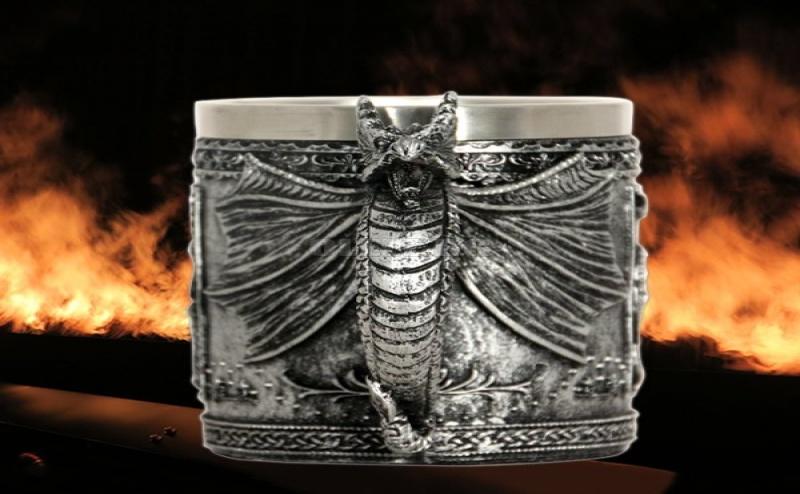 Супер Яка 3D Чаша Дракон