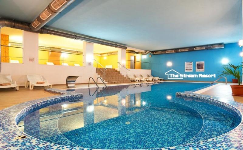 2, 3 или 4 нощувки на човек със закуски + басейн и СПА от хотел Стрийм Ризорт***, Пампорово