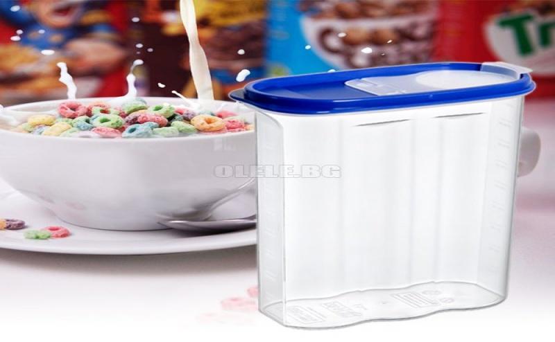Кутия за Съхранение на Зърнени Закуски Hobby Life