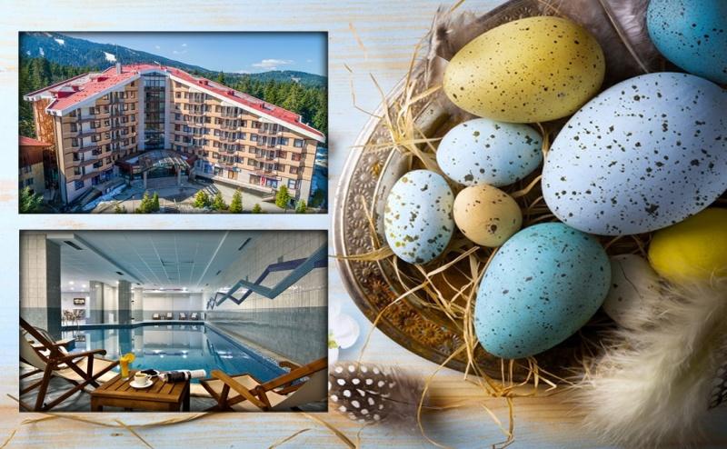 Великден в Боровец! 3 нощувки на човек със закуски, великденски обяд и вечери + басейн и релакс зона в хотел Флора****