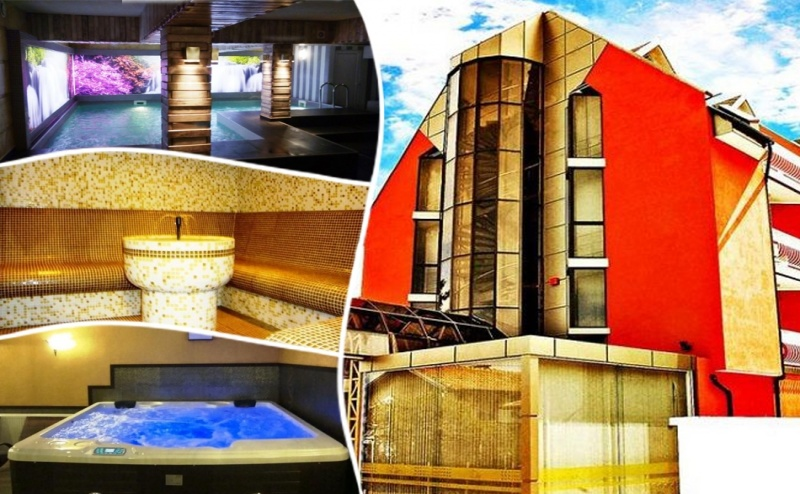 Делник в Сапарева Баня! Нощувка, закуска и вечеря на човек + минерален басейн и СПА пакет в хотел Виа Лакус