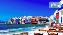 Почивка от април до септември на о. Санторини в Гърция ! 4 нощувки със закуски, транспорт и фериботни билети и такси!
