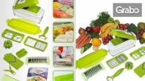 Оригинално кухненско ренде Nicer Dicer Plus - комплект от 20 части