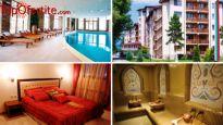 Велинград, хотел СПА Клуб Бор ****! Вземи 1 нощувка за 2 възрастни + 2 деца в Апартамент + закуски, вечери и ползване на СПА