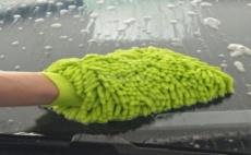 Микрофибърна Ръкавица за Почистване на Автомобил