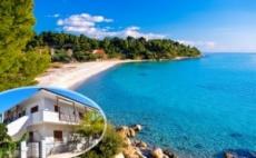Септември в Метаморфози, Халкидики на 100 М. от Плажа! Нощувка на Супер Цена в Апартаменти за Гости Eco Corner, Гърция - Деца до 12Г. или Трети Възрастен  ...